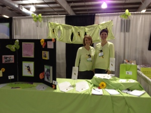 Your Turn booth at the Women's Expo 2012