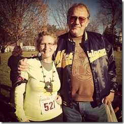 Runners of Kalamazoo Race Day - Cindy and Husband