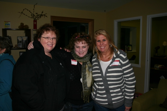 Soups On, Meet and Greet; Amy, Ann and Stacy