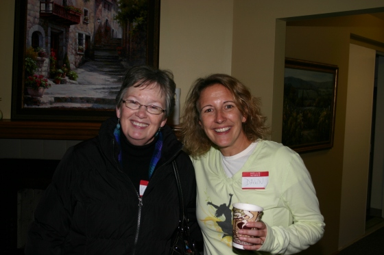 Soups On, Meet and Greet; Kathy and Dawn