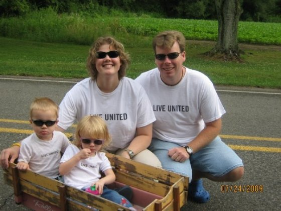Living United isn't just a tag line for this family.