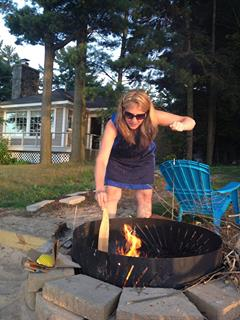 Michelle and Fire