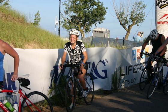 Onto the Bike